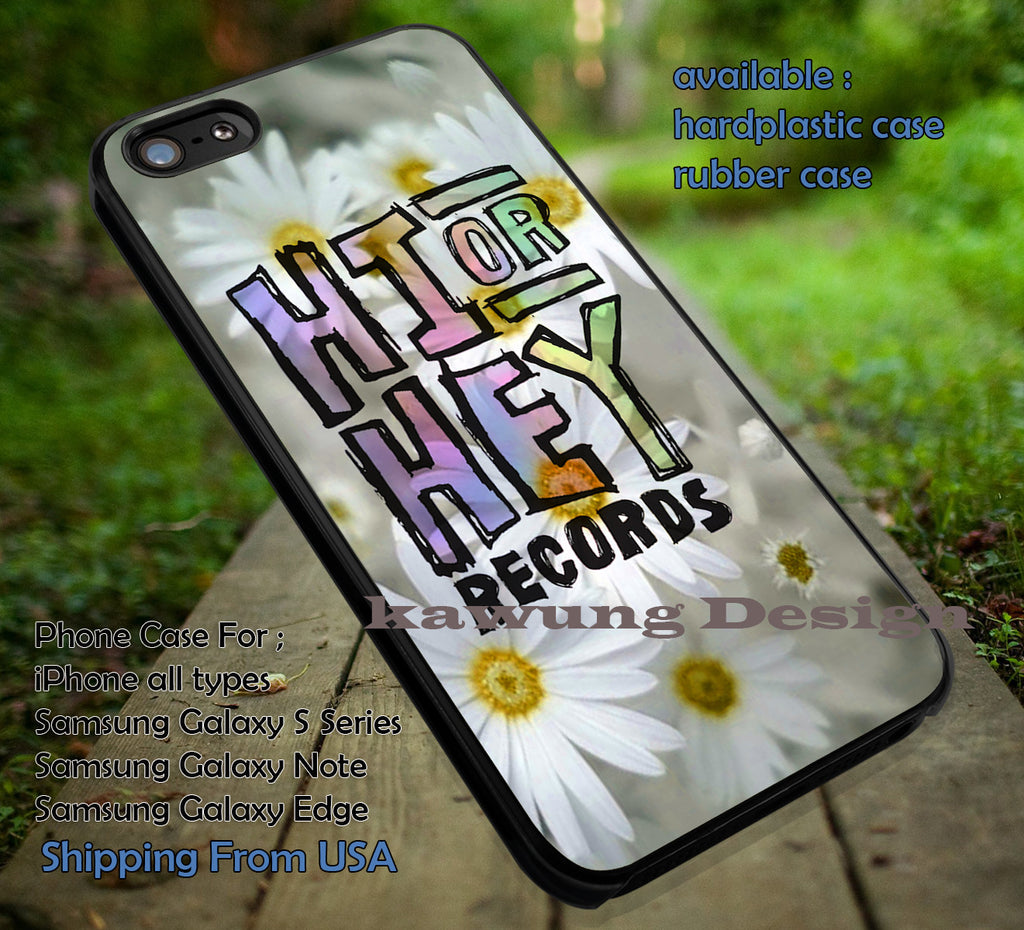 5 Seconds of Summer Hi or Hey Records iPhone 6s 6 6s+ 5c 5s Cases Samsung Galaxy s5 s6 Edge+ NOTE 5 4 3 #music #5sos dt - K-Designs
