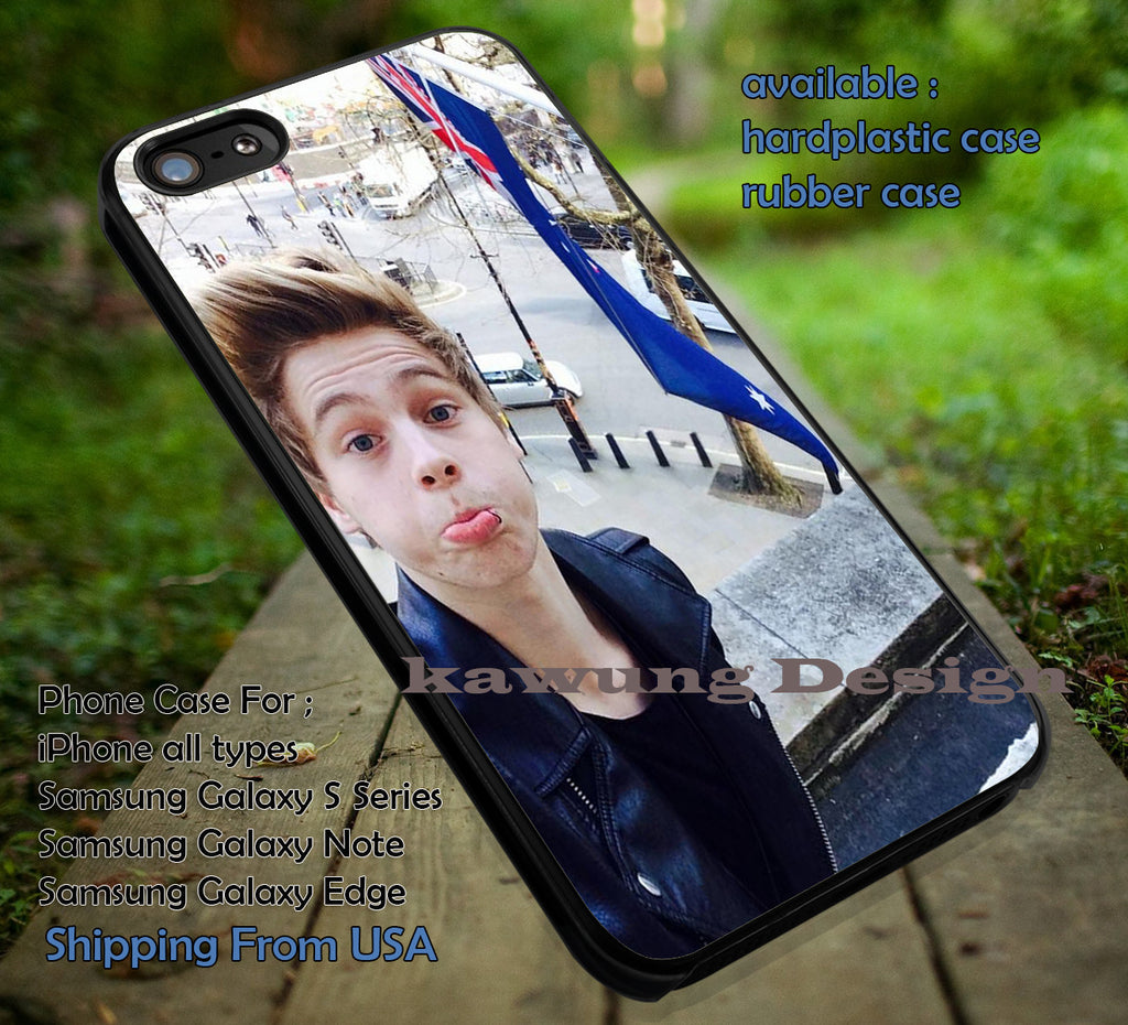 5 Seconds of Summer Luke and Australian Flag iPhone 6s 6 6s+ 5c 5s Cases Samsung Galaxy s5 s6 Edge+ NOTE 5 4 3 #music #5sos dt - K-Designs