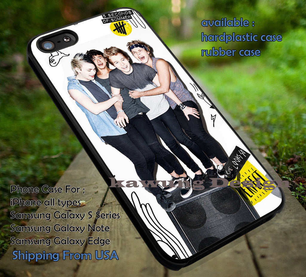 5 Seconds of Summer She Looks So Perfect iPhone 6s 6 6s+ 5c 5s Cases Samsung Galaxy s5 s6 Edge+ NOTE 5 4 3 #music #5sos dt - K-Designs