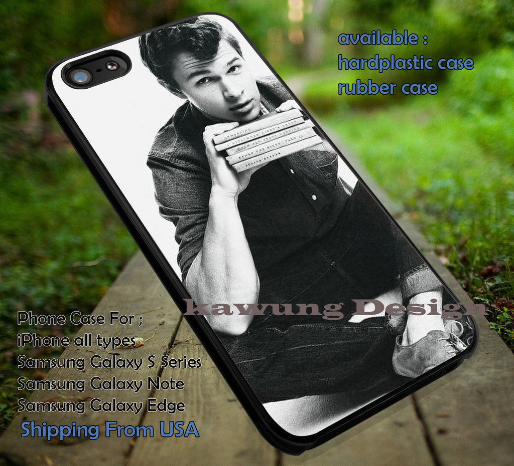 Ansel Elgort The Fault in Our Stars iPhone 6s 6 6s+ 5c 5s Cases Samsung Galaxy s5 s6 Edge+ NOTE 5 4 3 #movie #TheFaultInOurStars dt - Kawung Design  - 1
