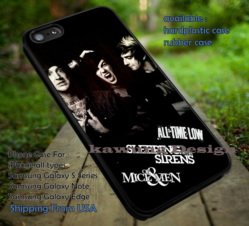 Austin Carlile Kellin Quinn Jack Barakat iPhone 6s 6 6s+ 5c 5s Cases Samsung Galaxy s5 s6 Edge+ NOTE 5 4 3 #music #omm #sws #atl dt - Kawung Design  - 1