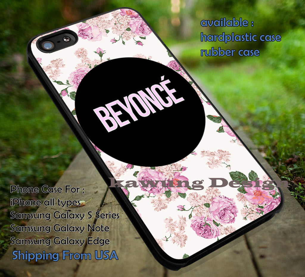 Beyonce Flower Vintage iPhone 6s 6s+ 5s 5c 4s Cases Samsung Galaxy s5 s6 Edge+ NOTE 5 4 3 #music #byc dt - Kawung Design  - 1