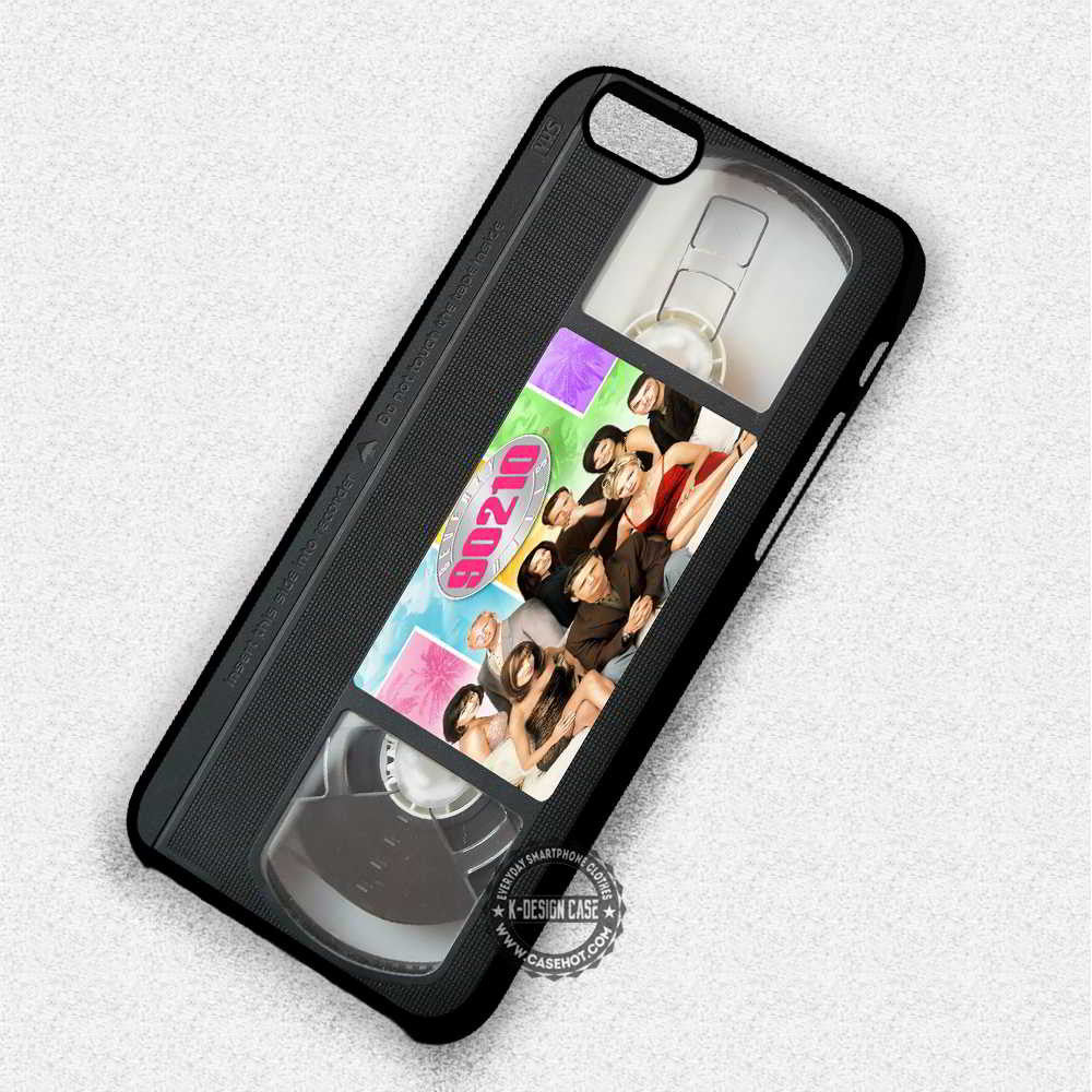 Retro Beverly Hills- iPhone 7 6 Plus 5c 5s SE Cases & Covers - Kawung Design  - 1