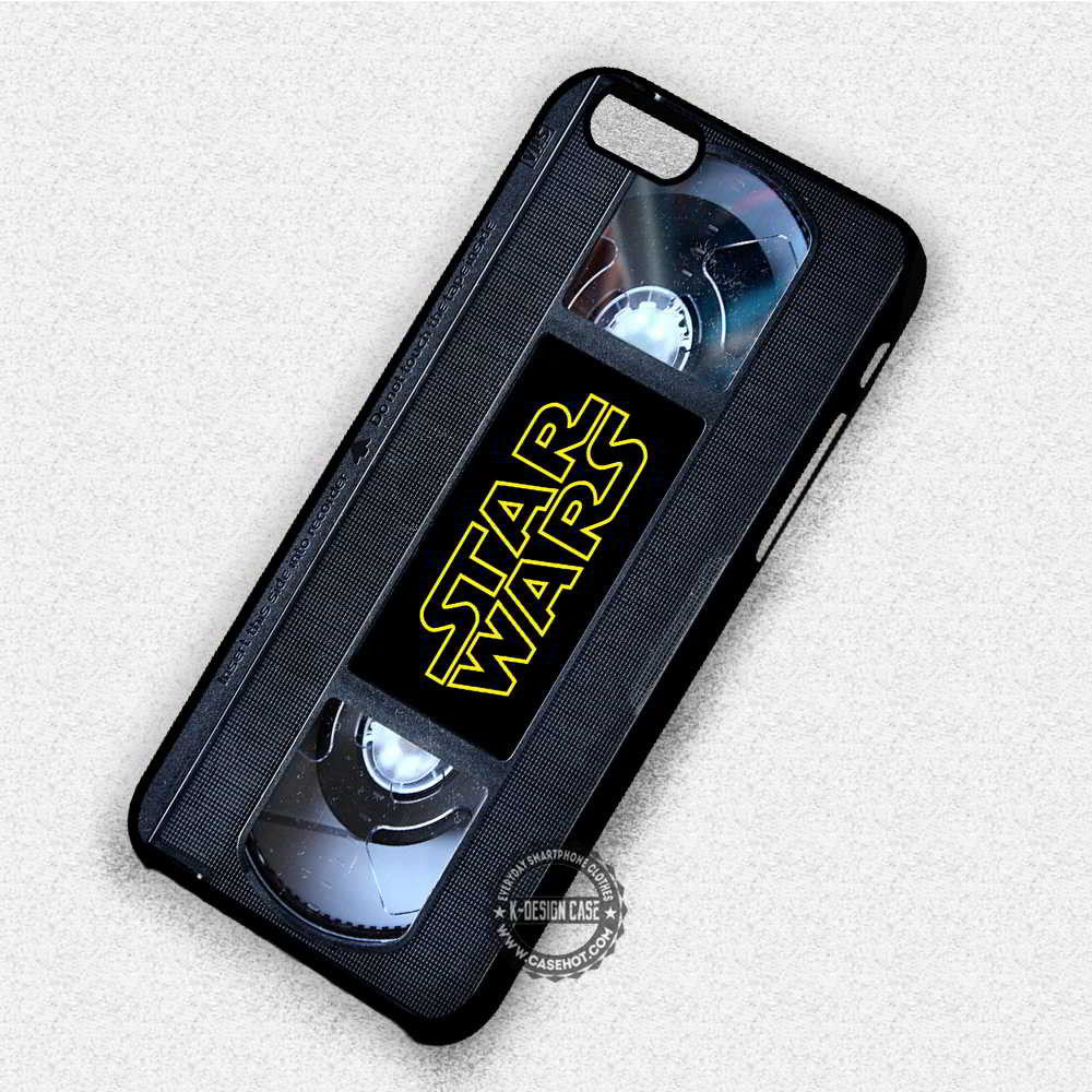 Cassette Vintage Star Wars - iPhone 7 6 Plus 5c 5s SE Cases & Covers #movie #StarWars - Kawung Design  - 1