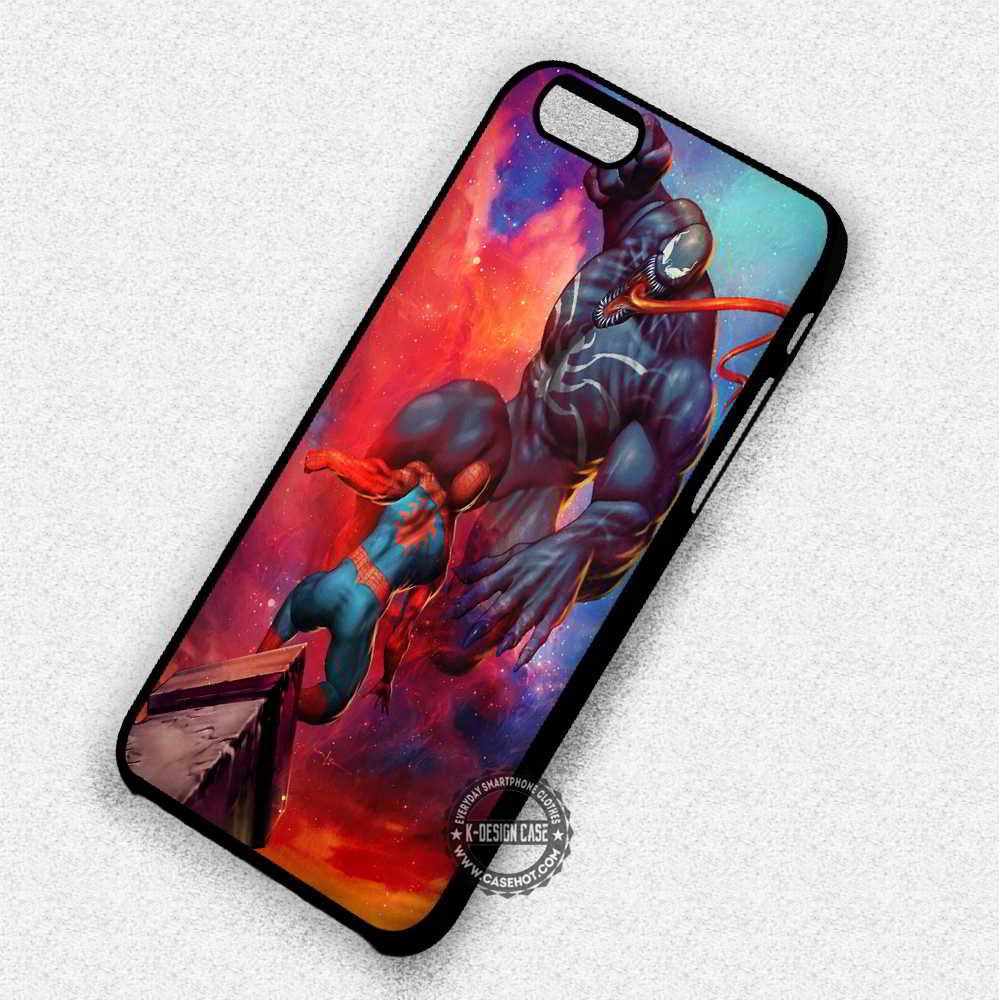 Vengeance Venom Spiderman - iPhone 7 6 Plus 5c 5s SE Cases & Covers - Kawung Design  - 1