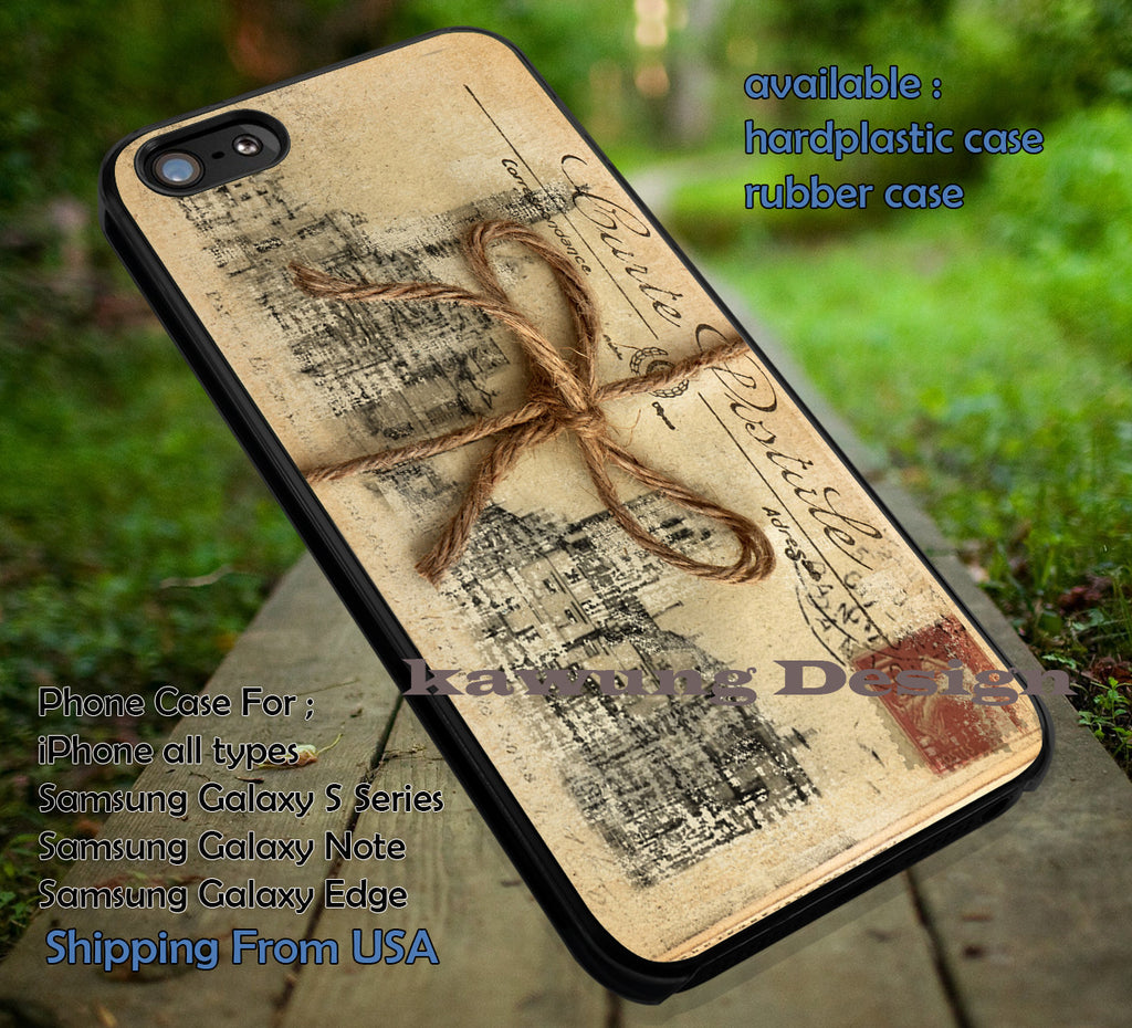 A Bundle of Letter Vintage iPhone 6s 6 6s+ 5c 5s Cases Samsung Galaxy s5 s6 Edge+ NOTE 5 4 3 #art dt - K-Designs
