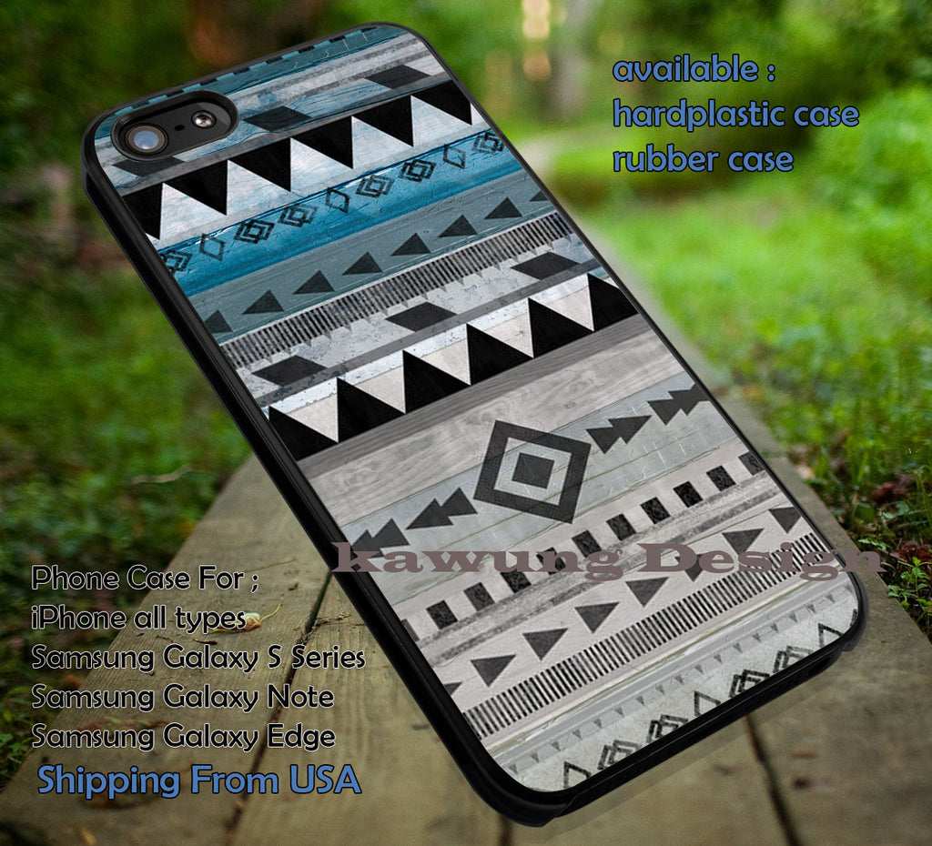 Aztec Tribal Pattern Wood Print iPhone 6s 6 6s+ 5c 5s Cases Samsung Galaxy s5 s6 Edge+ NOTE 5 4 3 #art dt - Kawung Design  - 1