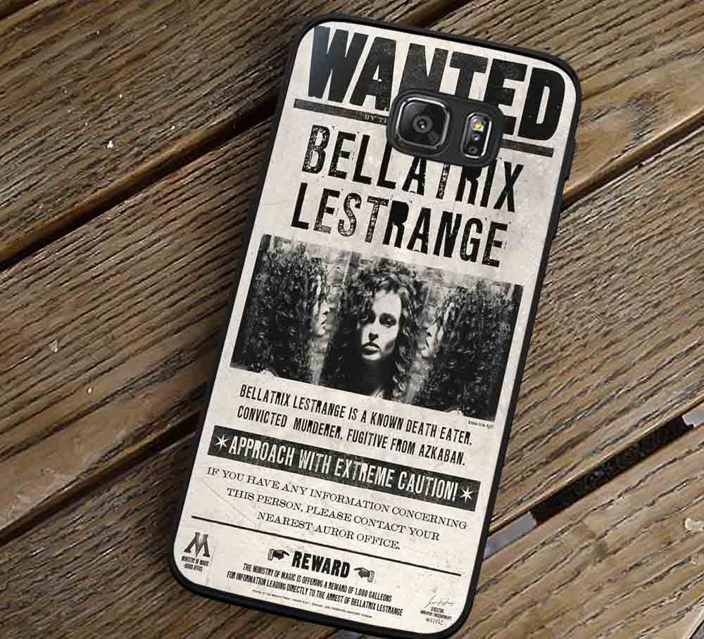 Bellatrix Lestrange Wanted Poster Samsung Galaxy s3 s4 s5 s6 Edge+ NOTE 5 4 3 Cases #movie #HarryPotter lk - Kawung Design  - 1