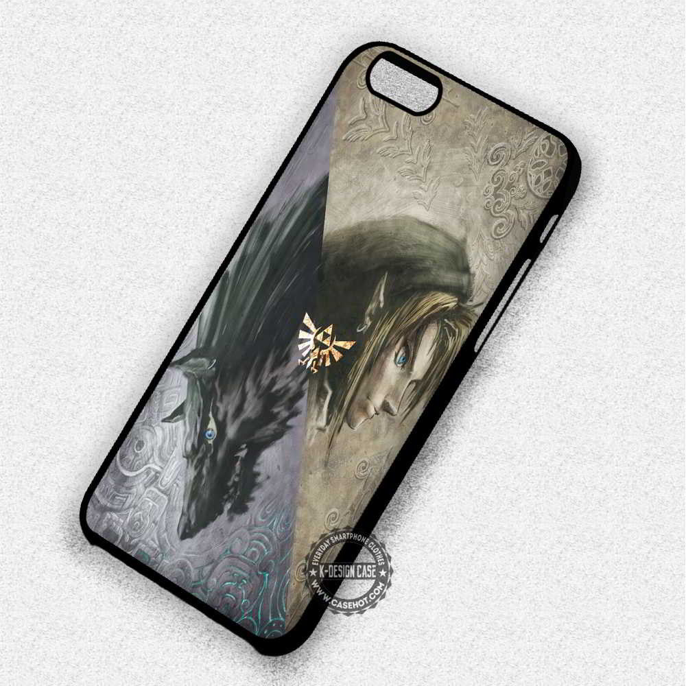 Wolf Legend of Zelda Game - iPhone 7 6 Plus 5c 5s SE Cases & Covers - Kawung Design  - 1