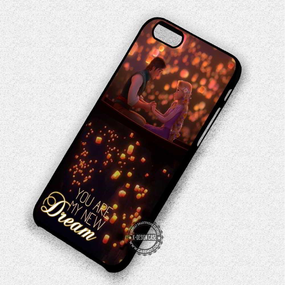 My New Dream Rapunzel Tangled Rapunzel Quote - iPhone 7 6 Plus 5c 5s SE Cases & Covers - Kawung Design  - 1