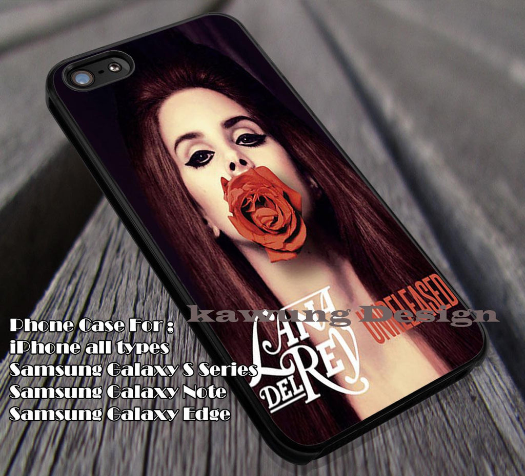 Album Cover | Unreleased | Lana Del Rey Case for iPhone 4/4s/5/5c/6/6+/6s/6s+ Samsung Galaxy S4/S5/S6/Edge Cases NOTE 3/4/5 #music #lana ii - Kawung Design  - 1
