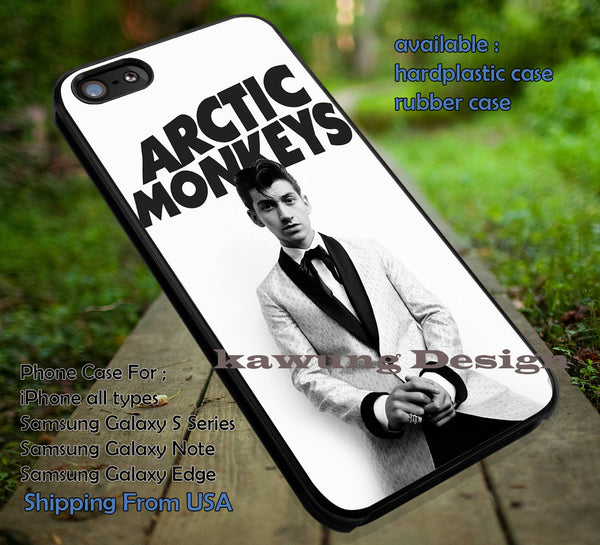 Alex turner,  cool, cute, singer, arc, arctic monkeys, case/cover for iPhone 4/4s/5/5c/6/6+/6s/6s+ Samsung Galaxy S4/S5/S6/Edge/Edge+ NOTE 3/4/5 #music #arc #cartoon ii - Kawung Design  - 1