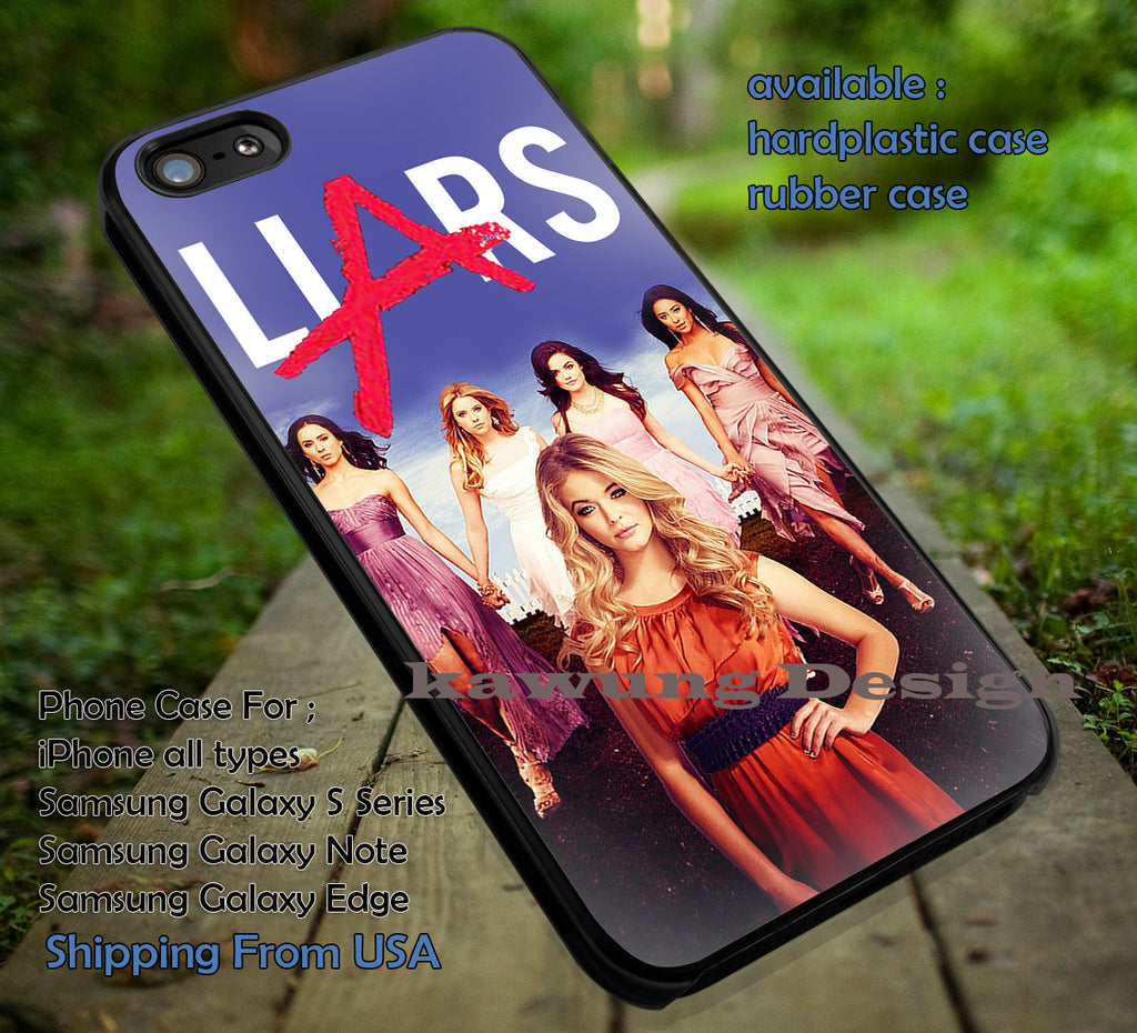All PLL iPhone 6s 6 6s+ 6plus Cases Samsung Galaxy s5 s6 Edge+ NOTE 5 4 3 #movie #PrettyLittleLiars ii - Kawung Design  - 1