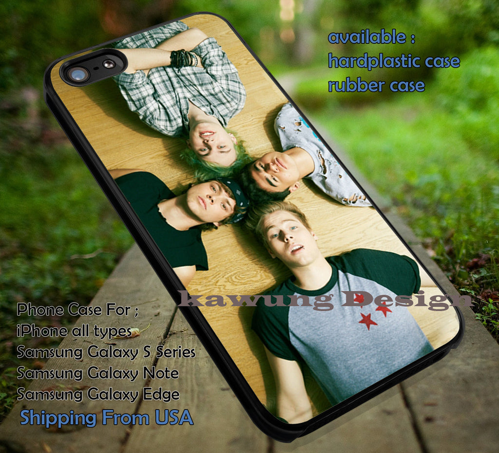 5 Seconds of Summer Merch iPhone 6s 6 6plus 5s 5c Cases Samsung Galaxy S4/S5/S6 Edge NOTE 3/4/5 #music #5sos ii - K-Designs