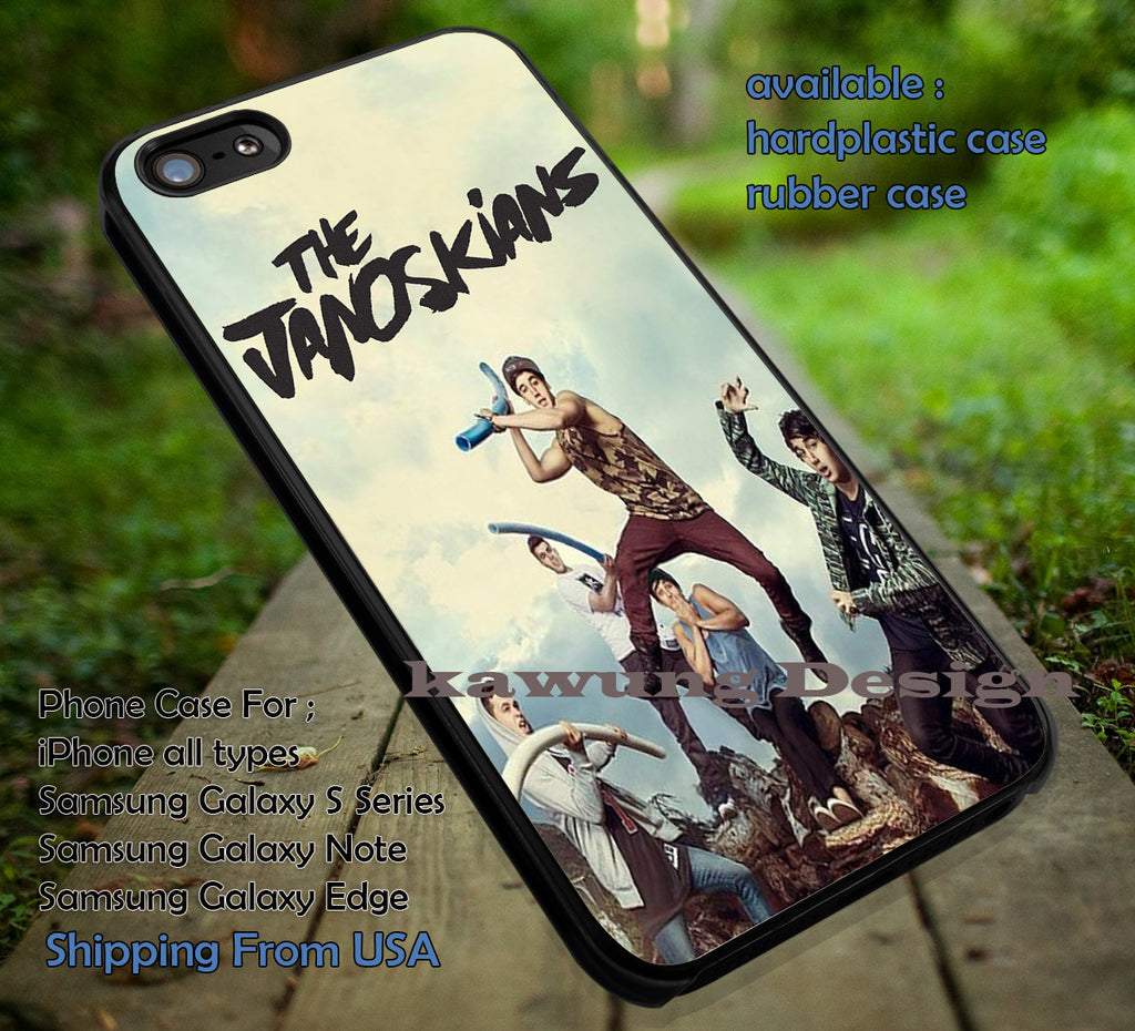 All Personel The Janoskians iPhone 6s 6 6s+ 6plus Cases Samsung Galaxy s5 s6 Edge+ NOTE 5 4 3 #movie #TheJanoskians ii - Kawung Design  - 1