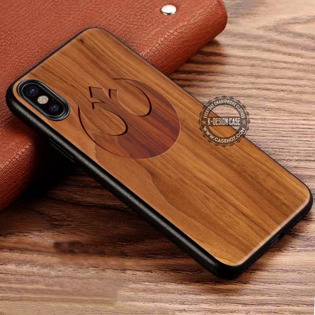 Alliance Sign Wood Star Wars iPhone X  Case