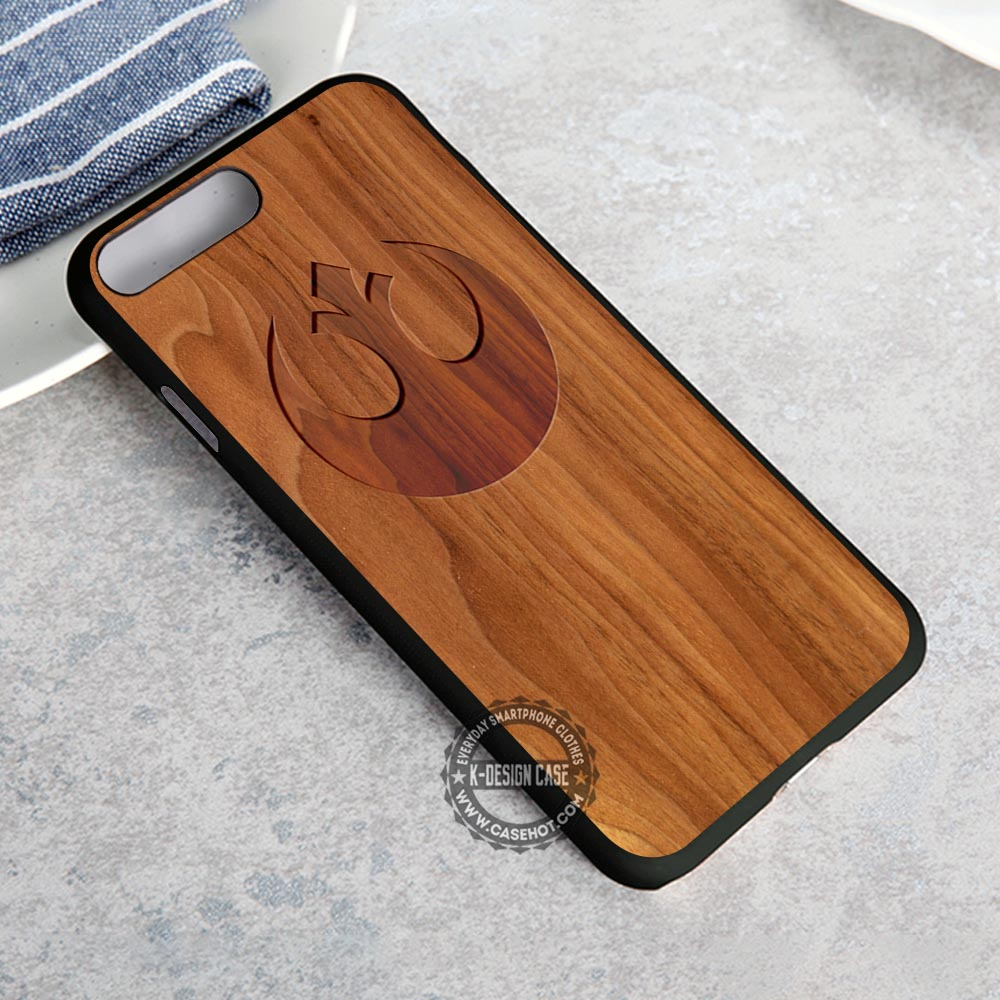 Alliance Sign Wood Star Wars iPhone 8 Plus Case