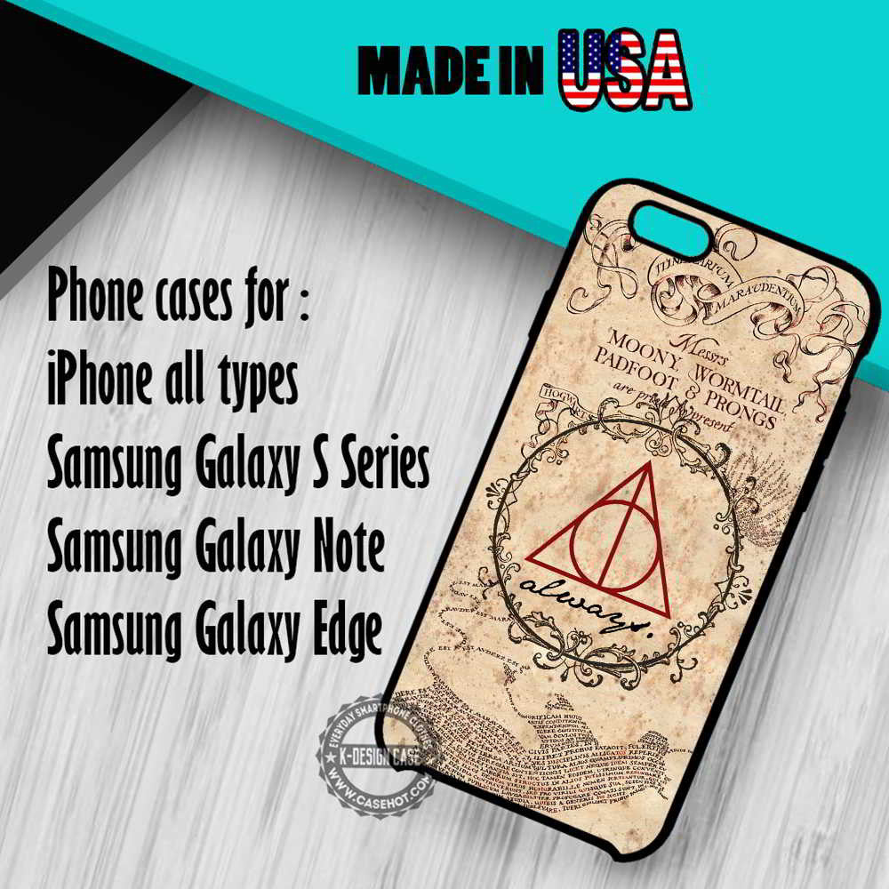 Harry Potter Marauder Map iPhone 7 7+ 6s 6 SE Cases Samsung Galaxy S7 edge S6 S5  NOTE 7 5 4 3