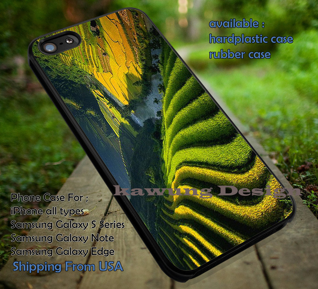 Amazing Bali Rice Field iPhone 6s 6 6s+ 6plus Cases Samsung Galaxy s5 s6 Edge+ NOTE 5 4 3 #art ii - Kawung Design  - 1