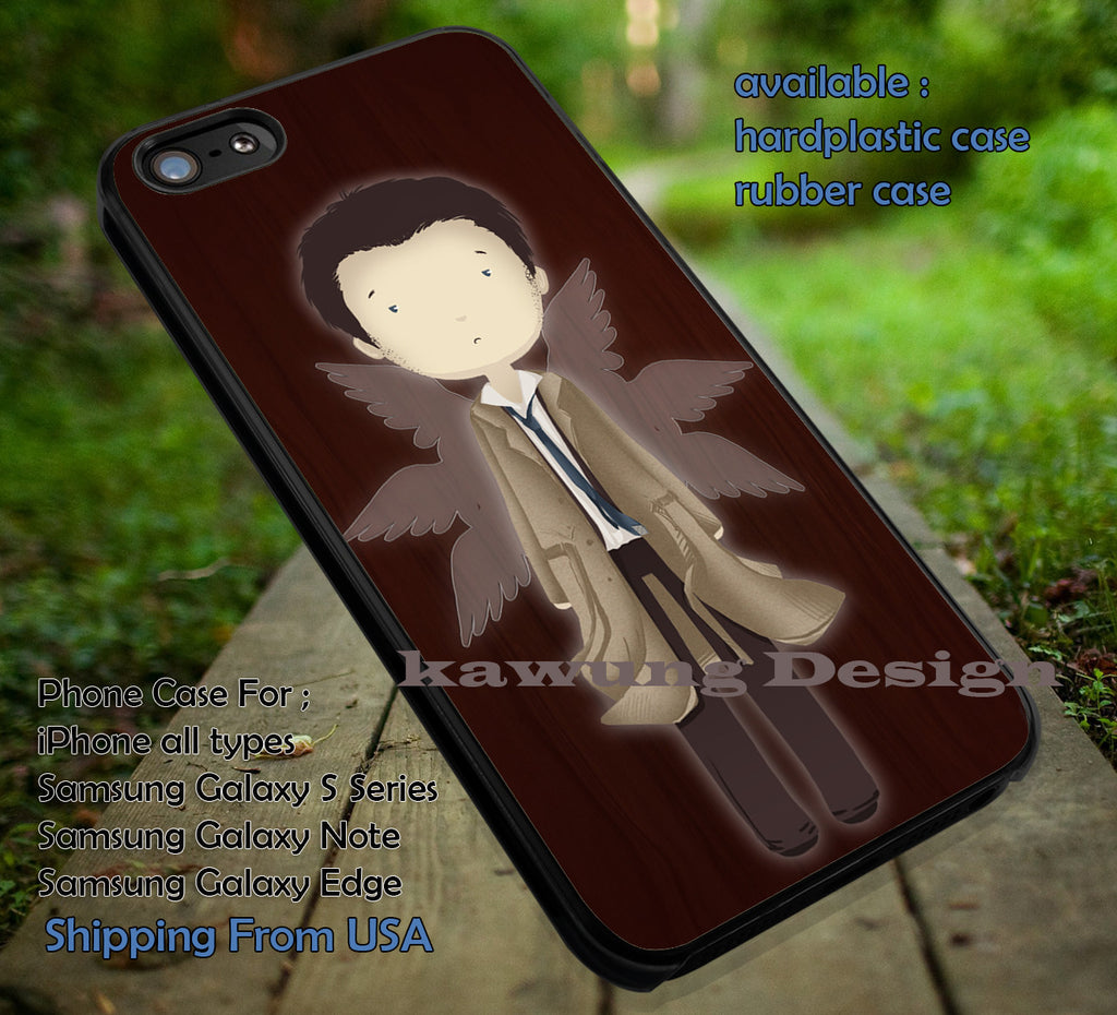 Angel of Lord | Supernatural | Sam Dean iPhone 6s 6 6s+ 6plus Cases Samsung Galaxy s5 s6 Edge+ NOTE 5 4 3 #movie #supernatural ii - Kawung Design  - 4
