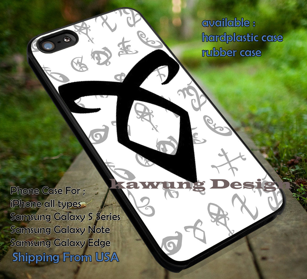 Mortal Instrument Angelic Power iPhone 8+ 7 6s Cases Samsung Galaxy S8 S7 edge NOTE 8 5 4