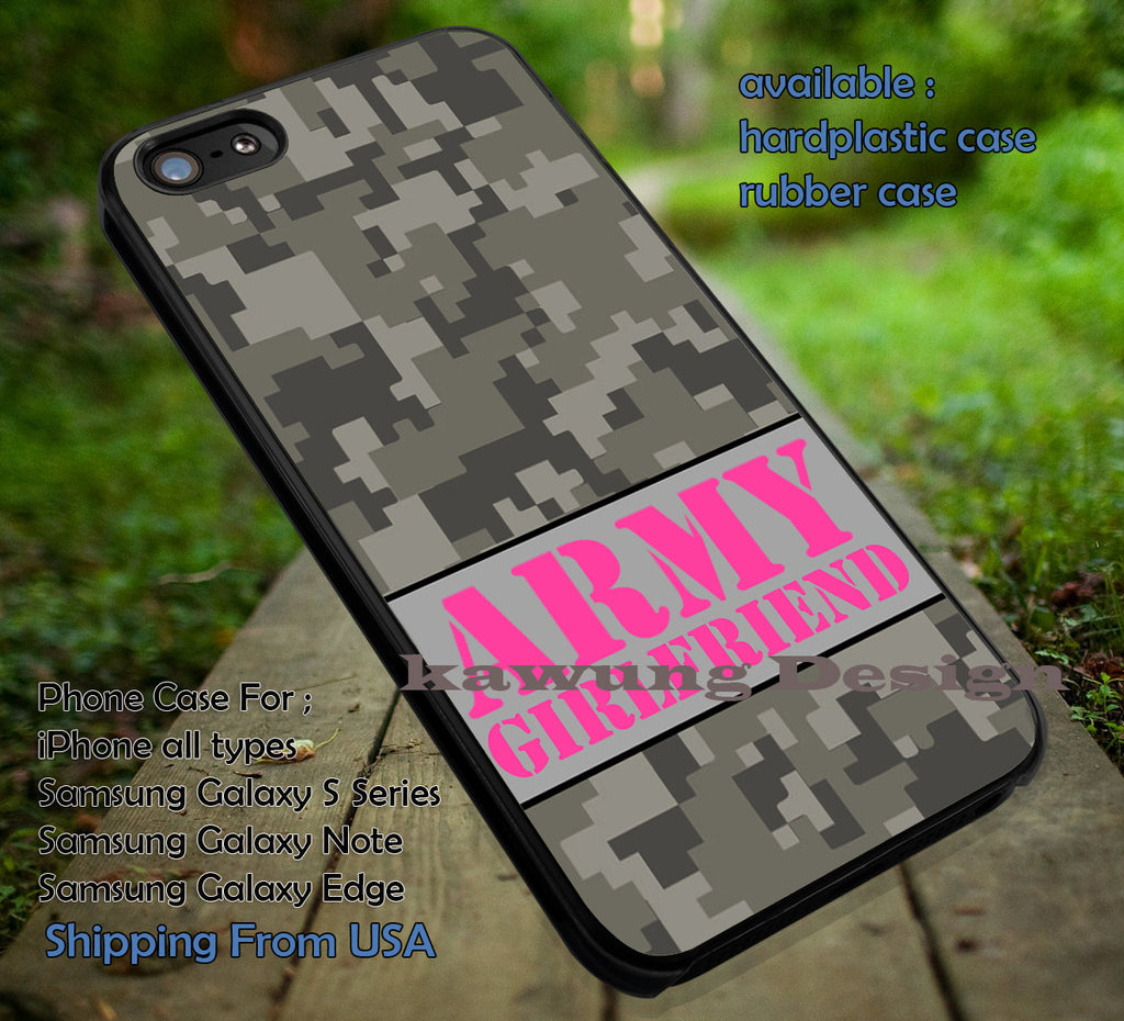 Army Girlfriend Military iPhone 6s 6 6s+ 6plus Cases Samsung Galaxy s5 s6 Edge+ NOTE 5 4 3 #art ii - Kawung Design  - 1