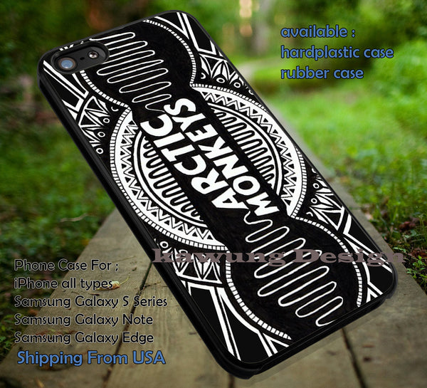 Art drawing creativity logo band,  arc, arctic monkeys, logo band,  case/cover for iPhone 4/4s/5/5c/6/6+/6s/6s+ Samsung Galaxy S4/S5/S6/Edge/Edge+ NOTE 3/4/5 #music #arc #cartoon ii - Kawung Design  - 1