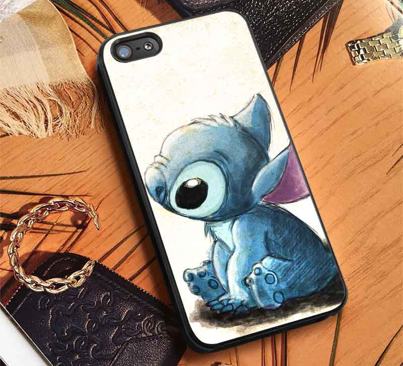Art Drawing Cute Lilo iPhone 6s 6 6s+ 5c 5s Cases Samsung Galaxy s5 s6 Edge+ NOTE 5 4 3 #cartoon #animated #disney #Lilo&Stitch lk - Kawung Design  - 1