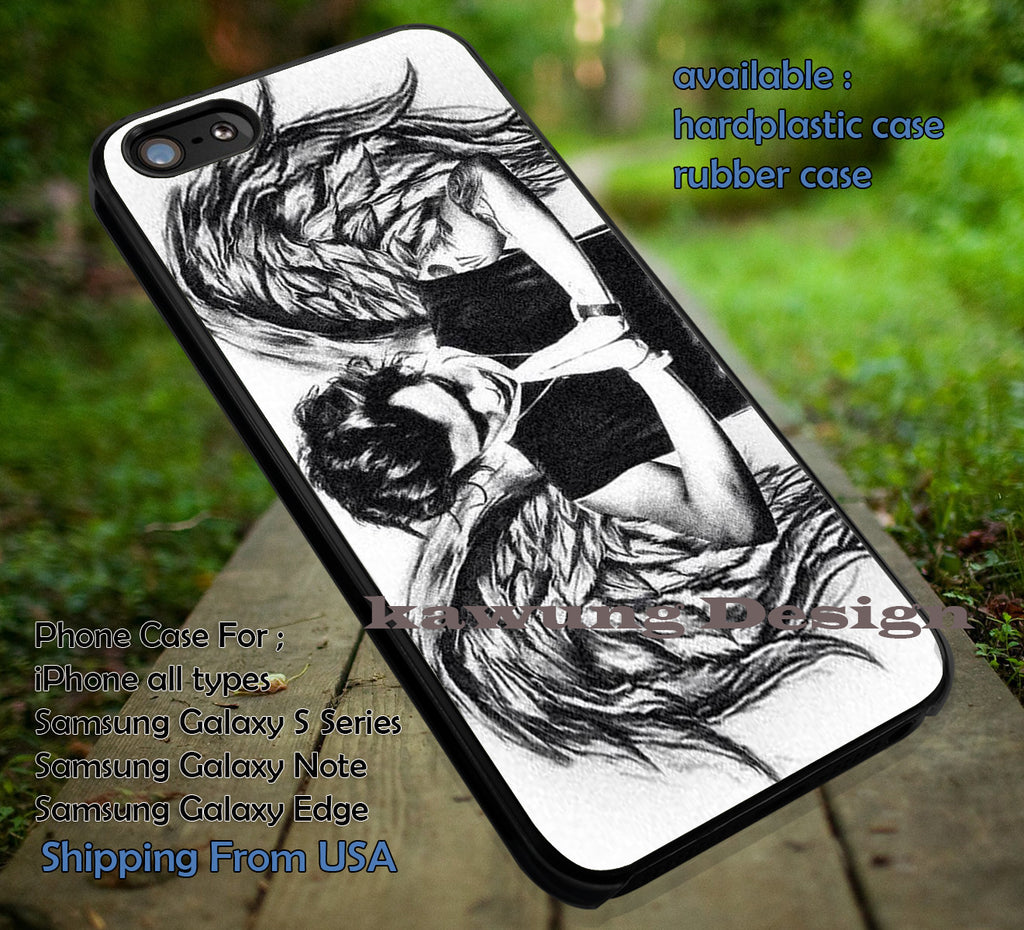 Art drawing edit wings styles,Harry Styles,wings harry,iphone6 6plus,one direction case/cover for iPhone 4/4s/5/5c/6/6+/6s/6s+ Samsung Galaxy S4/S5/S6/Edge/Edge+ NOTE 3/4/5 #music #1d ii - Kawung Design  - 1