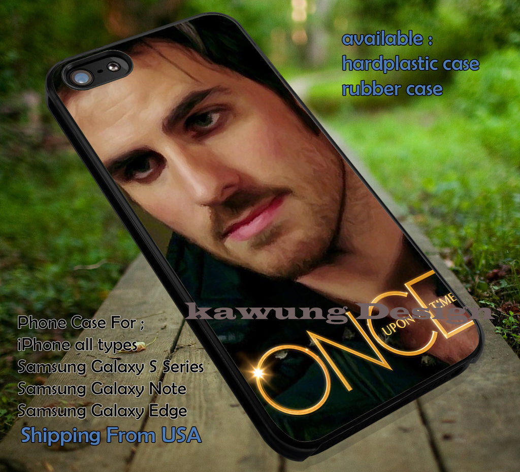 Art Paint | Captain Hook | Once Upon a Time iPhone 6s 6 6s+ 6plus Cases Samsung Galaxy s5 s6 Edge+ NOTE 5 4 3 #movie #cartoon #disney #animated #onceuponatime ii - Kawung Design  - 1