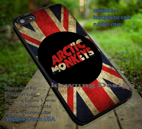 Artic monkey england vintage flag, band, england, arc, arctic monkeys, logo band, case/cover for iPhone 4/4s/5/5c/6/6+/6s/6s+ Samsung Galaxy S4/S5/S6/Edge/Edge+ NOTE 3/4/5 #music #arc ii - Kawung Design  - 1