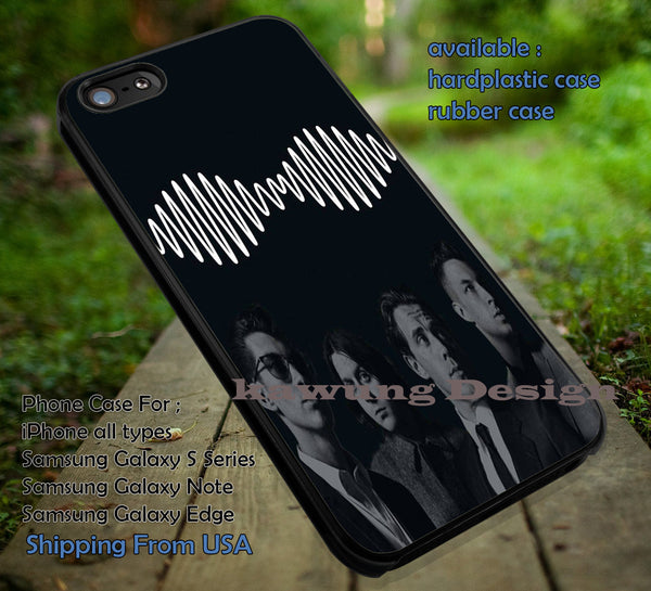 Artic monkeys, UK vintage, logo, arc, arctic monkeys, logo band, case/cover for iPhone 4/4s/5/5c/6/6+/6s/6s+ Samsung Galaxy S4/S5/S6/Edge/Edge+ NOTE 3/4/5 #music #arc ii - Kawung Design  - 1