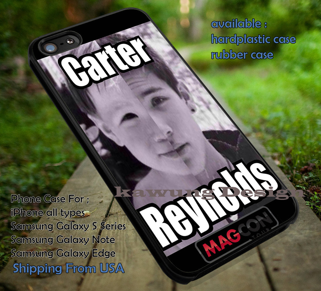 Baby Carter Reynolds iPhone 6s 6 6s+ 6plus Cases Samsung Galaxy s5 s6 Edge+ NOTE 5 4 3 #movie #MagconBoys ii - Kawung Design  - 4