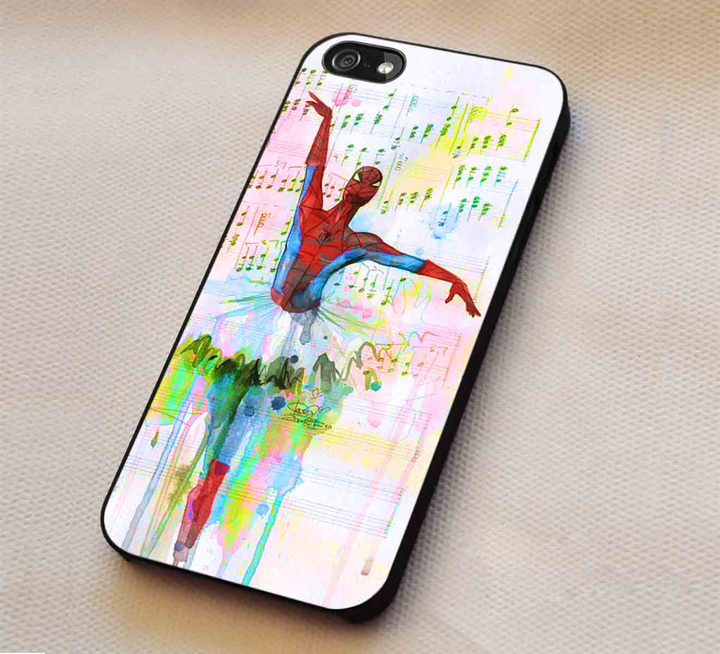 Ballet Water Color Art Hero iPhone 6s 6 6s+ 5c 5s Cases Samsung Galaxy s5 s6 Edge+ NOTE 5 4 3 #movie #disney #animated #marvel #comic #spiderman lk1 - Kawung Design  - 1