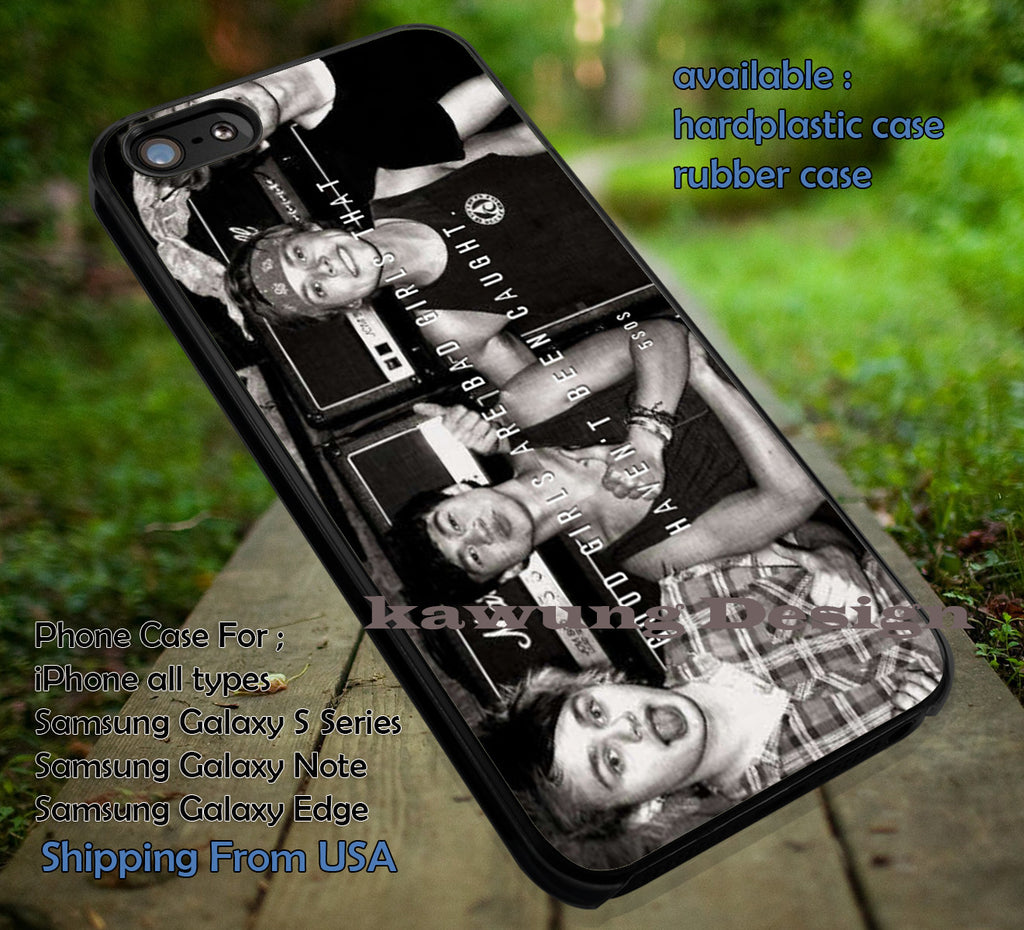 Band good girl, good girl, bad girl, 5sos, 5 second of summer, case/cover for iPhone 4/4s/5/5c/6/6+/6s/6s+ Samsung Galaxy S4/S5/S6/Edge/Edge+ NOTE 3/4/5 #music  #5sos ii - Kawung Design  - 1
