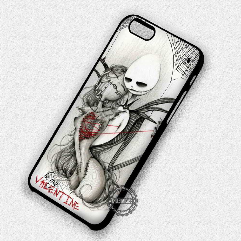 Be Mine Only Jack Sally Nightmare Before Christmas - iPhone 7 6 5 4 ...