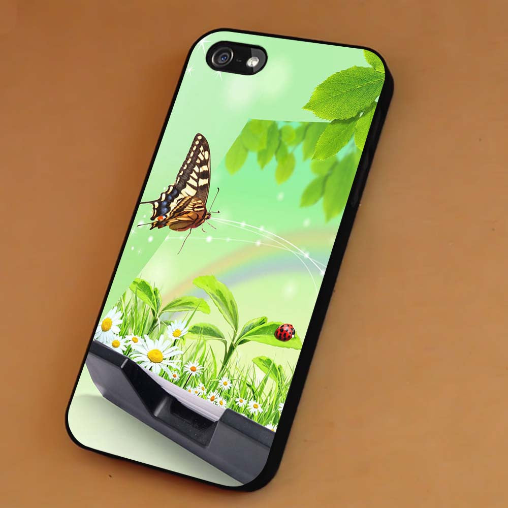 Beautiful Butterfly Floral iPhone 6s 6 6s+ 5c 5s Cases Samsung Galaxy s5 s6 Edge+ NOTE 5 4 3 #art sp - Kawung Design  - 1
