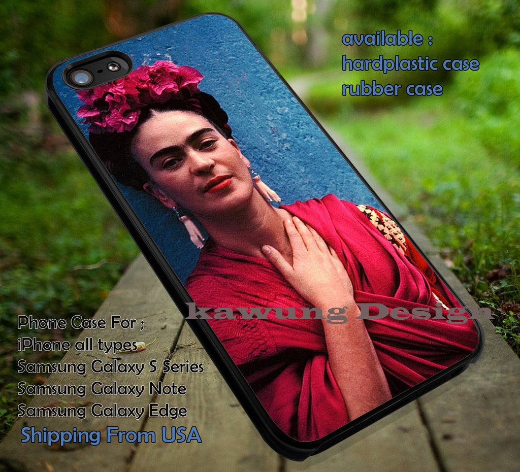 Beautiful in Red iPhone 6s 6 6s+ 6plus Cases Samsung Galaxy s5 s6 Edge+ NOTE 5 4 3 #music #fridakahlo ii - Kawung Design  - 1