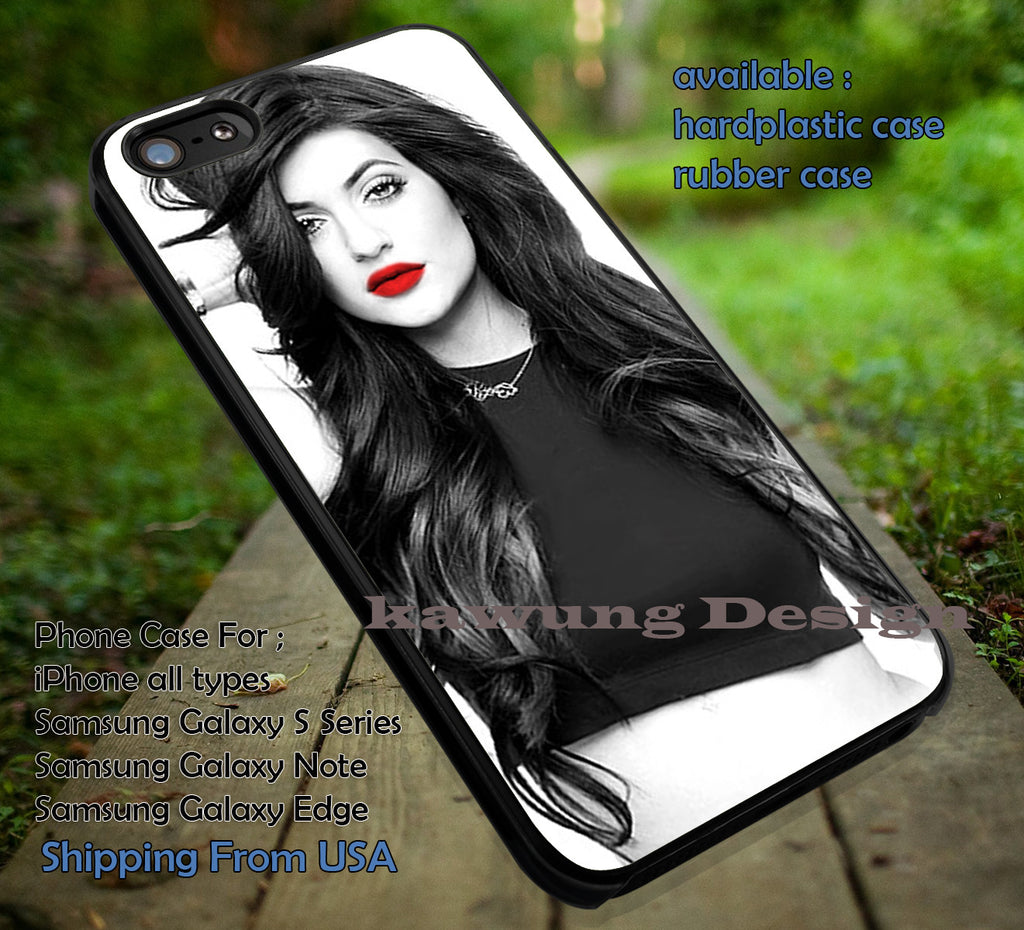 Beautifull Red Lips iPhone 6s 6 6s+ 6plus Cases Samsung Galaxy s5 s6 Edge+ NOTE 5 4 3 #other ii - Kawung Design  - 1