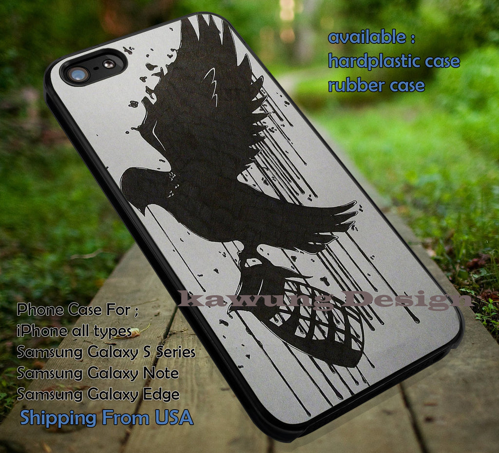 Bird bringing basket hollywood, hollywood undead, PTV, pierce the veil, case/cover for iPhone 4/4s/5/5c/6/6+/6s/6s+ Samsung Galaxy S4/S5/S6/Edge/Edge+ NOTE 3/4/5 #music #ptv ii - Kawung Design  - 1