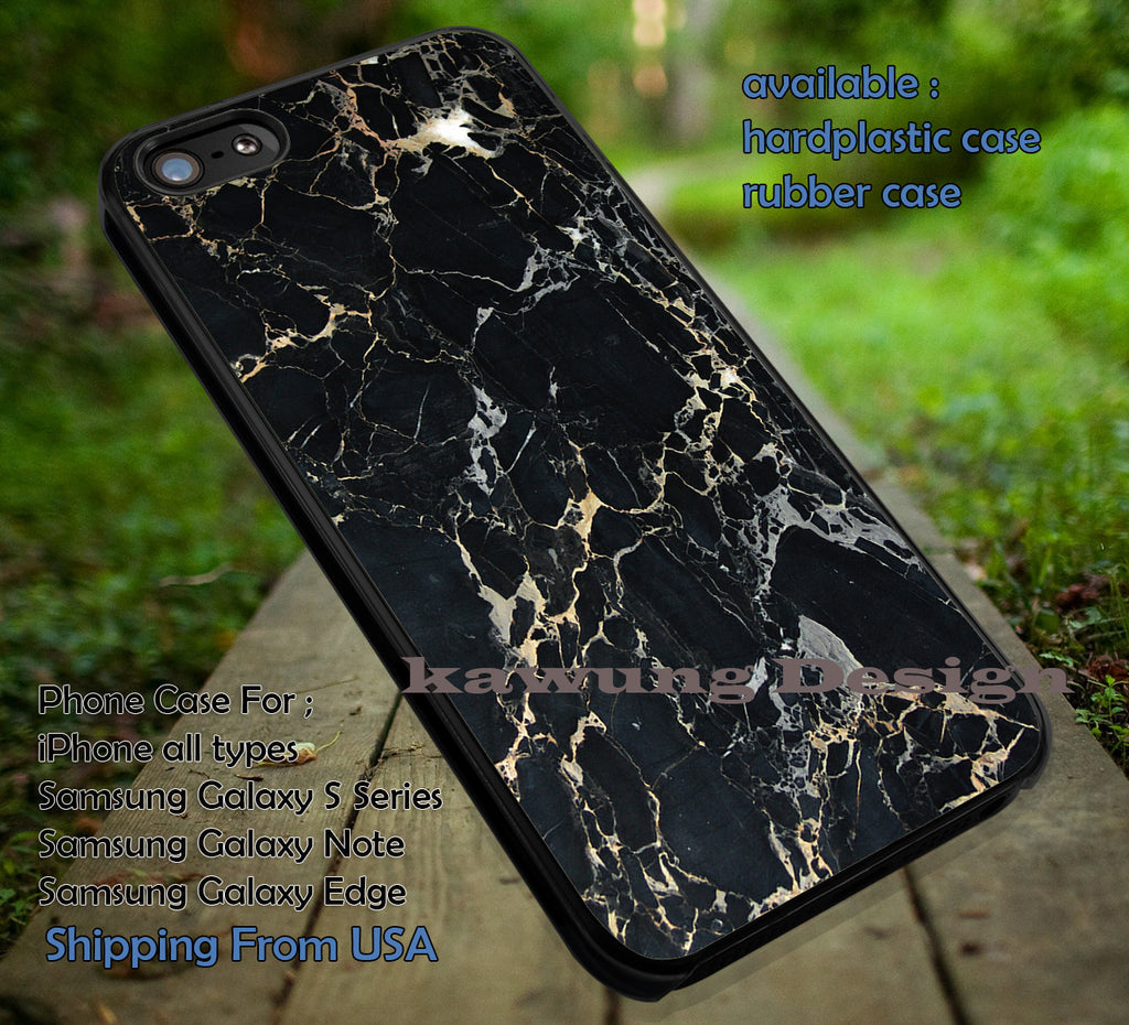 Black Marble Granite Ceramics Floor iPhone 6s 6 6s+ 6plus Cases Samsung Galaxy s5 s6 Edge+ NOTE 5 4 3 #art ii - Kawung Design  - 1