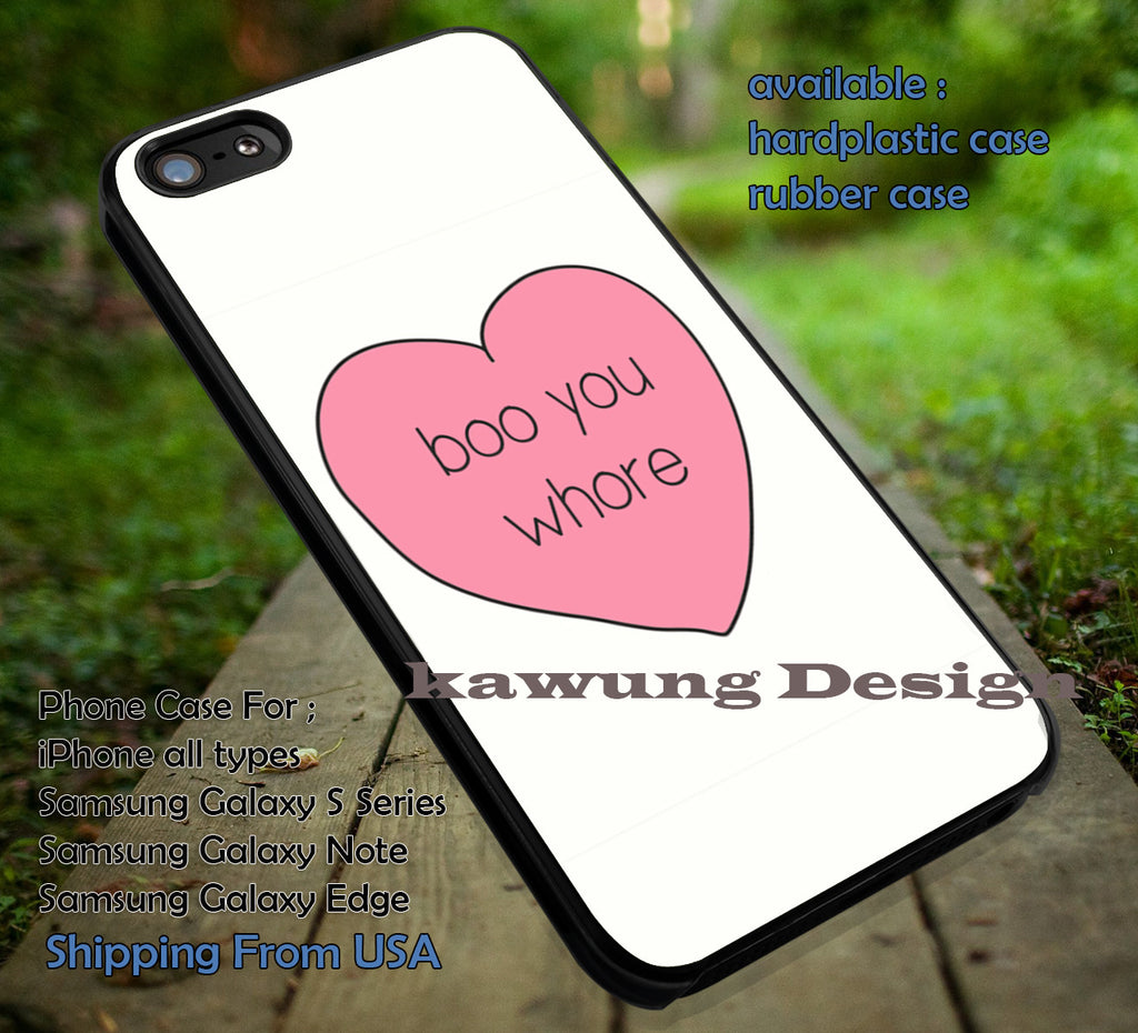 Boo You Wore Mean Girls iPhone 6s 6 6s+ 6plus Cases Samsung Galaxy s5 s6 Edge+ NOTE 5 4 3 #art ii - Kawung Design  - 1