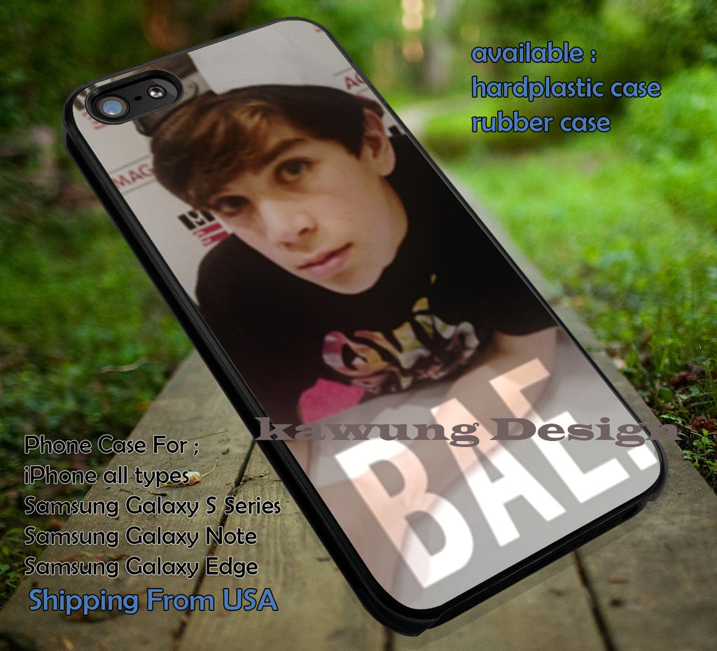Boy Hayes Grier iPhone 6s 6 6s+ 6plus Cases Samsung Galaxy s5 s6 Edge+ NOTE 5 4 3 #movie #MagconBoys ii - Kawung Design  - 1