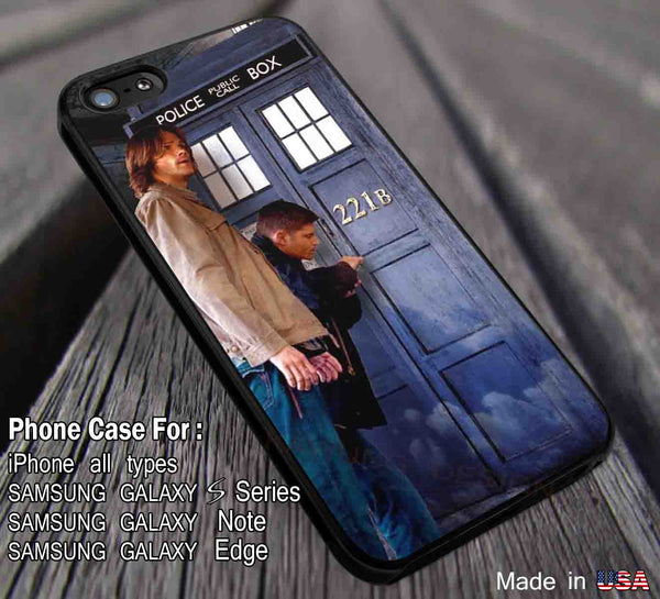 Breaking in Entry Tardis Superwholock iPhone 6s 6s+ 6plus 5s 5c 4s Cases Samsung Galaxy s5 s6 S4 S3 Edge+ NOTE 5 4 3 2 Covers #movie #cartoon #superwholock #supernatural #doctorwho #sherlockholmes ii - Kawung Design  - 1