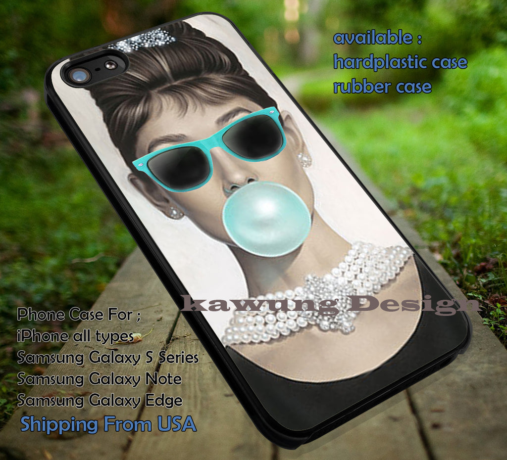 Bubble Gum and Sunglass iPhone X 8+ 7 6s Cases Samsung Galaxy S8 S7 edge NOTE 8 5 4