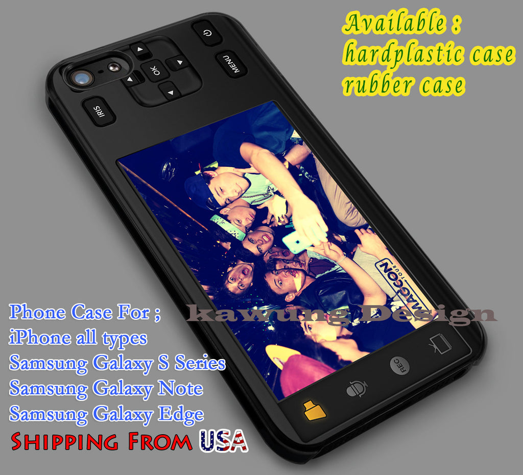 Camera Magcon Boys iPhone 6s 6 6s+ 5c 5s Cases Samsung Galaxy s5 s6 Edge+ NOTE 5 4 3 #movie #MagconBoys dl6 - Kawung Design  - 1