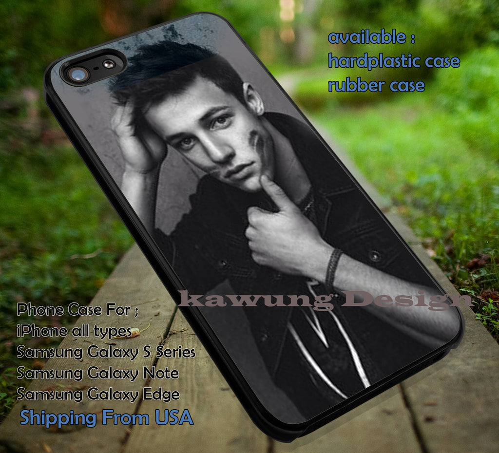Cameron Dallas and Kisses iPhone 6s 6 6s+ 6plus Cases Samsung Galaxy s5 s6 Edge+ NOTE 5 4 3 #movie #MagconBoys ii - Kawung Design  - 1