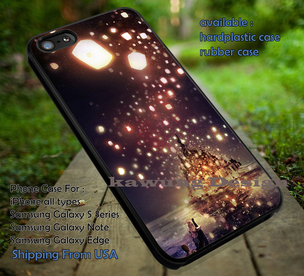 Castle Night Lantern Tangled iPhone X 8+ 7 6s Cases Samsung Galaxy S8 S7 edge NOTE 8 5 4