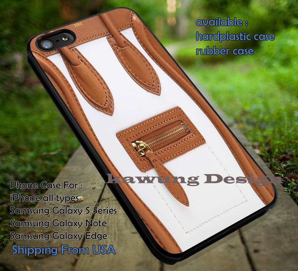 Celine Nano White Brown Original iPhone 6s 6 6s+ 6plus Cases Samsung Galaxy s5 s6 Edge+ NOTE 5 4 3 #art ii - Kawung Design  - 1