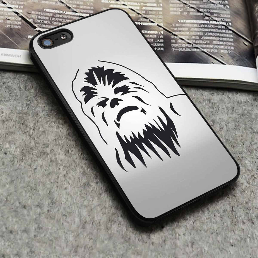 Chewbacca Star Wars iPhone 6s 6 6s+ 5c 5s Cases Samsung Galaxy s5 s6 Edge+ NOTE 5 4 3 #cartoon #anime #adventuretime #starwars br - Kawung Design  - 1